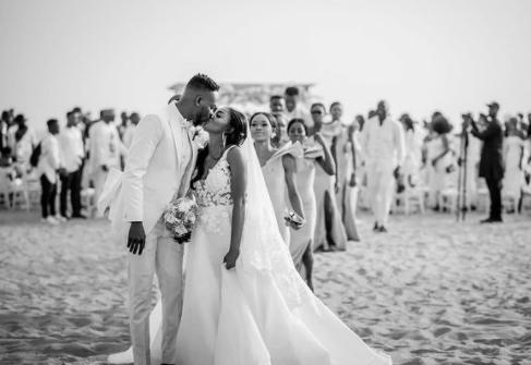Adekunle Gold shares photos from 1st day he met Simi to mark wedding anniversary