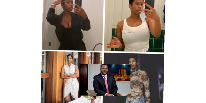 See pictures of the lady who disclosed that she dated popular Nigerian businessman Aliko Dangote