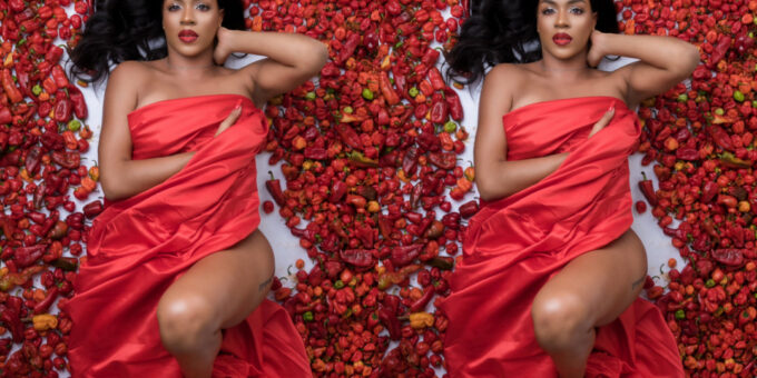 """If One Pepper Enter Your P*ssy, You Go Know Say Jesus Is Lord"" – Reactions To Venita Akpofure's Pepper Birthday Photo"