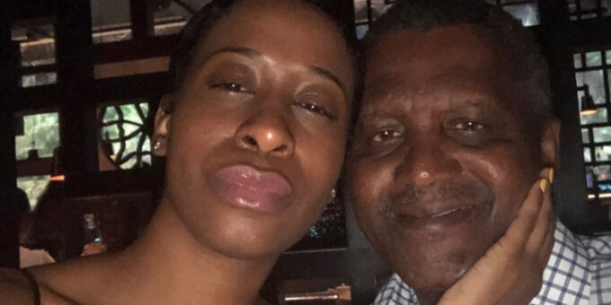 Dangote's Ex-girlfriend's Instagram Following Jumps From 3000 To 12,000 A few Hours After Revealing He Broke Her Heart Into 1000 Pieces