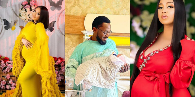 PHOTOS: Nigerian Musician, D'banj And His Wife Welcome Another Child