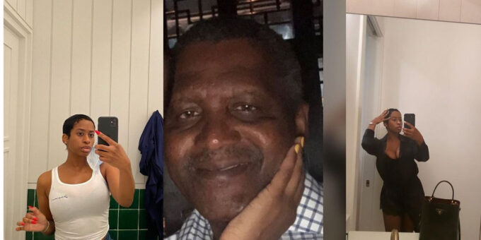 """""""She's A Hungry Thug, Never Dated Her"""" – Dangote Denies First US Mistress, Bae Lewis"""