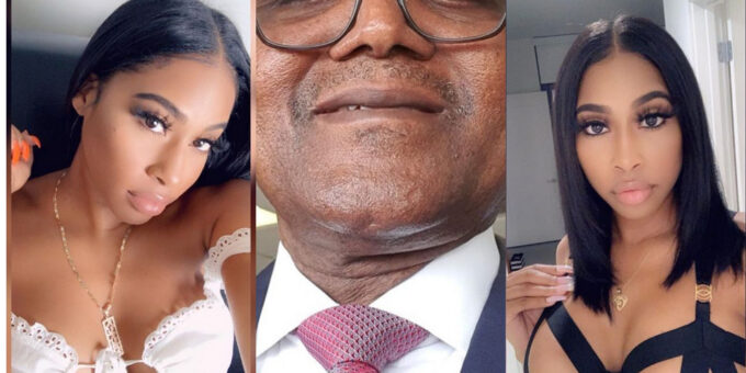 Another Girlfriend Of Dangote Pops Up And Posts A Video Of Him With His Butts Showing