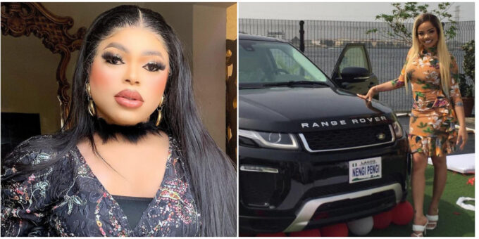 """Is Time I Throw My Own Fans Away"" – Bobrisky Slams Fans After Nengi Got A Range Rover From Her Fans"