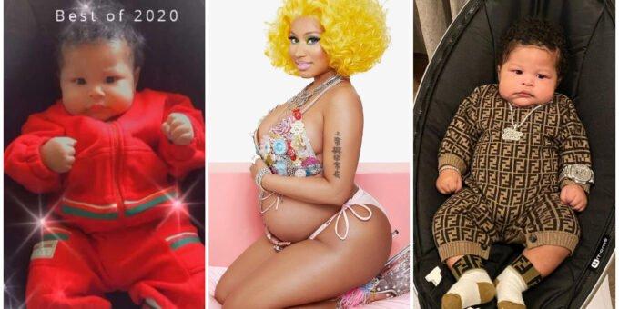 "Nicki Minaj Shared the First Photos of Her Baby Boy, Whom She Calls ""Papa Bear"""