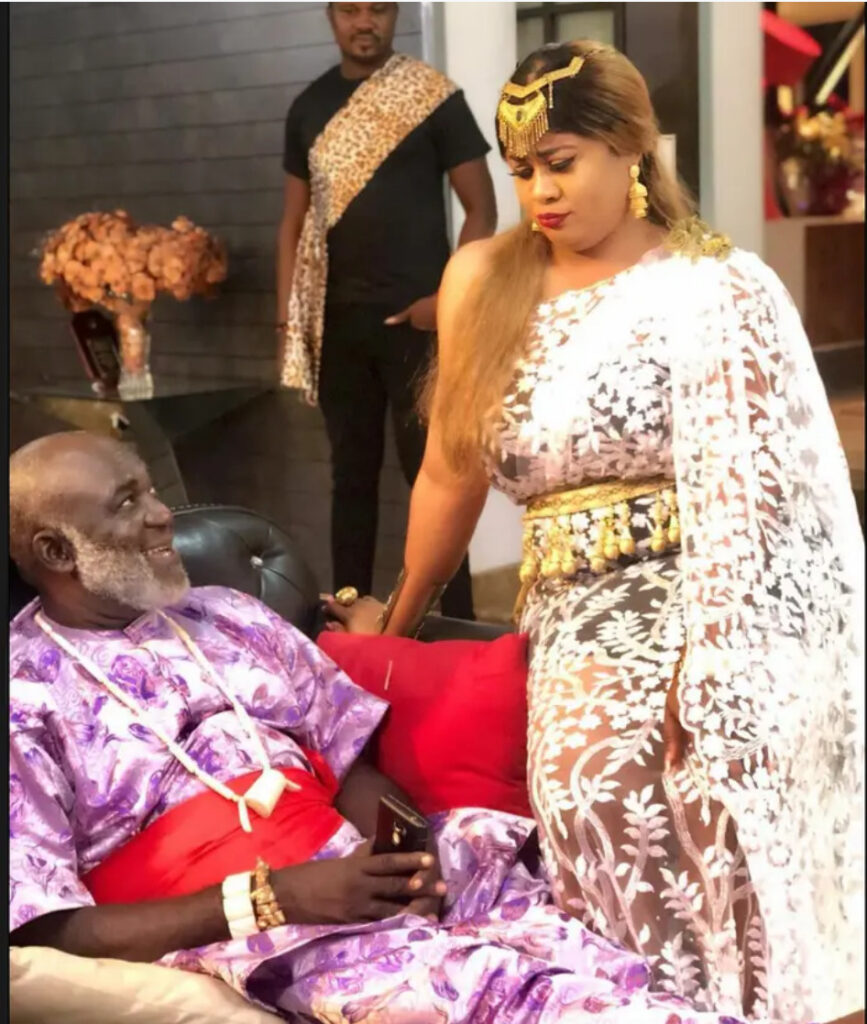 Meet Actress Uju Okoli's Father Who Is Also A Popular Nollywood Actor. See Photos