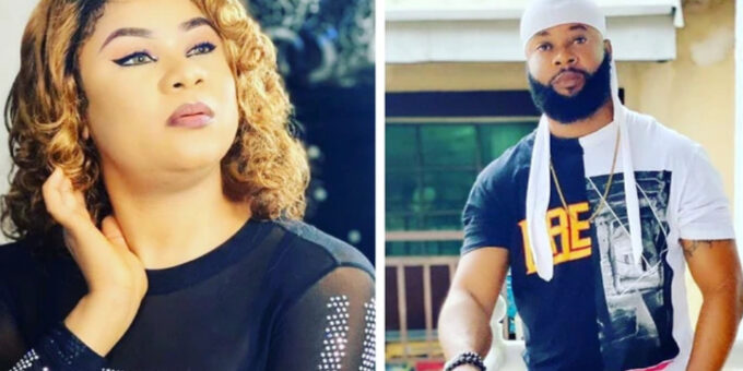 Meet Nollywood Actress Uju Okoli's Alleged Elder Brother Who Is Also An Actor (Pictures).