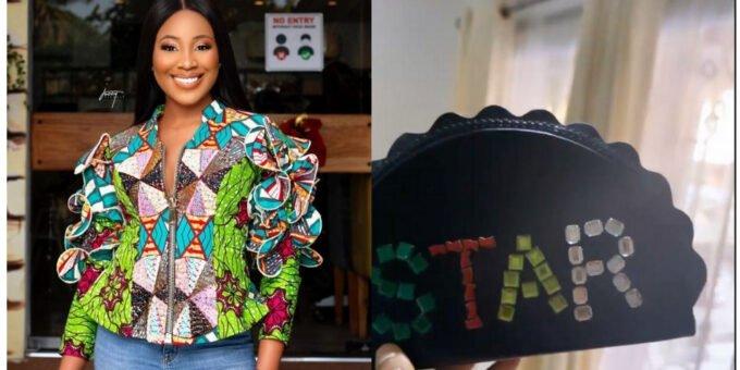 BBNaija: Erica Nlewedim Flaunts Her Customized Portable 'Star Girl' Handbag