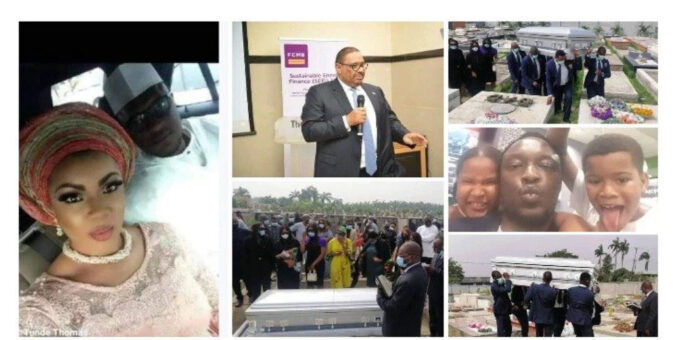 More Burial Photos of Tunde Thomas, Who Died of Heartbreak as His Two kids were allegedly not his