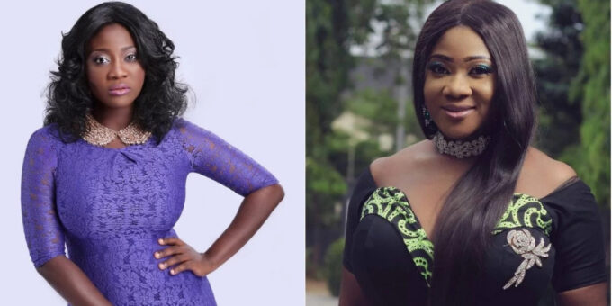 Mercy Johnson twin sister
