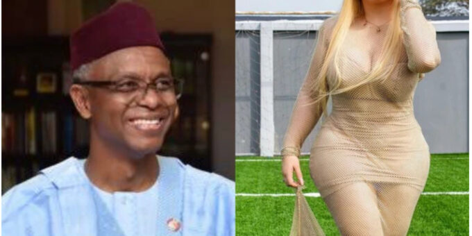 Lady Who Is Allegedly In A Relationship With El-Rufai Was Allegedly In Kaduna Recently To See Him