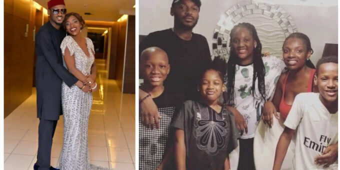 """""""Wetin Concern 2baba With DNA Test""""- Fans Point Out The Resemblance between 2baba And His Children"""