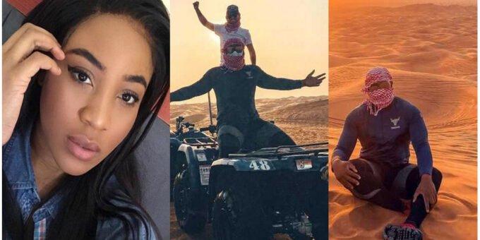 "BBNaija: ""Please Close My Property"" – Erica Nlewedim Tells Kiddwaya As He Shares Photos From His Dubai Vacation"