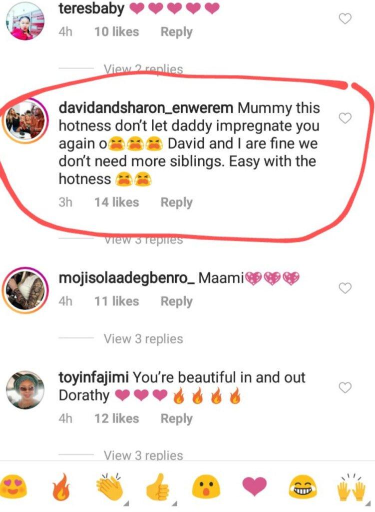 """Don't Get Pregnant Again"" – Fan Tells Dorathy"
