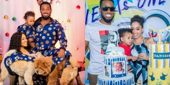 Nigerian singer, Dbanj spoils his wife with a Birkin Hermes bag and millions of naira