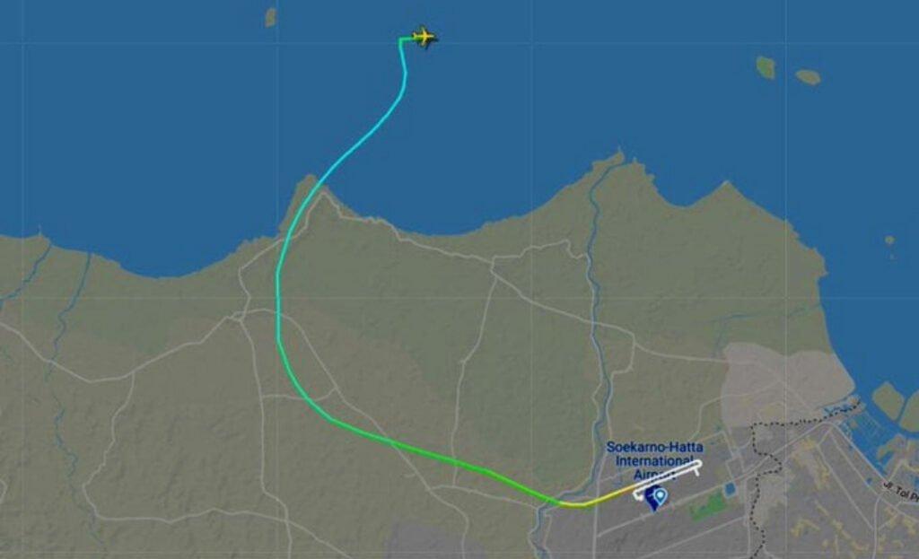 Plane crash map view