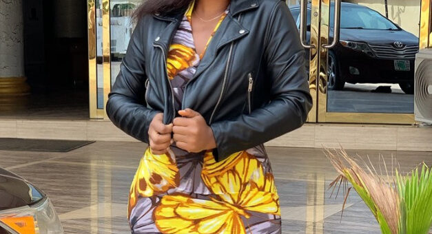 Nollywood actress, Peace Onuoha dedicates her newly built house to her late father