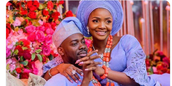"""""""God told me Adekunle Gold was the right person for me"""" - Simi"""