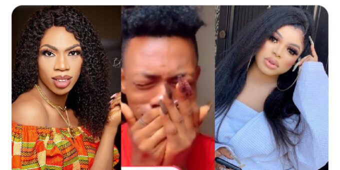 James Brown breaks down in tears as he apologizes to Bobrisky (Video)