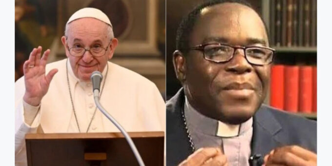 Bishop Kukah receives good news from Pope, days after he was criticised over Christmas message