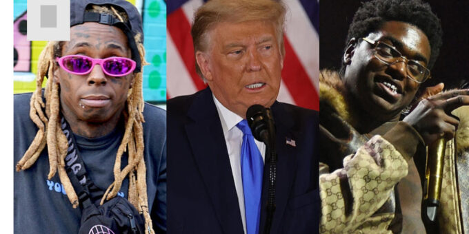 Trump grants pardons rappers Lil Wayne and Kodak Black