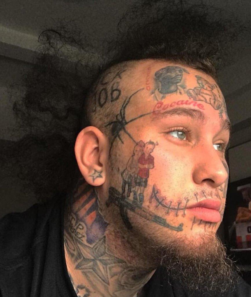 stitches rapper tattoo