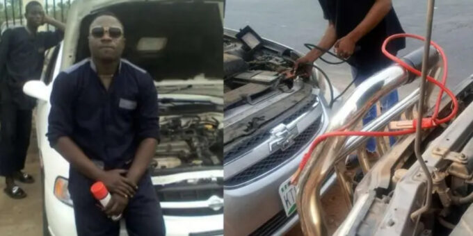 Heroic!!! Mechanical engineer hailed for helping stranded travelers in Osun