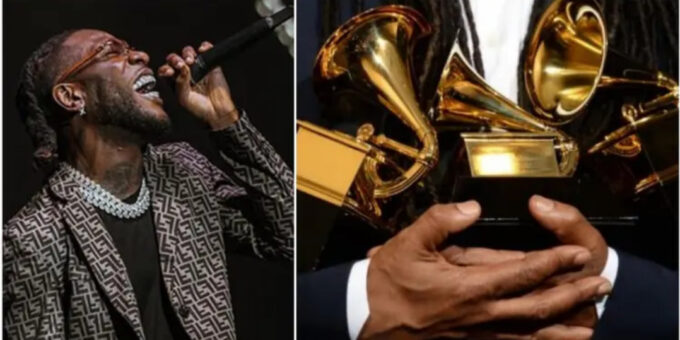 Burna Boy to perform at the 63rd Grammy Awards