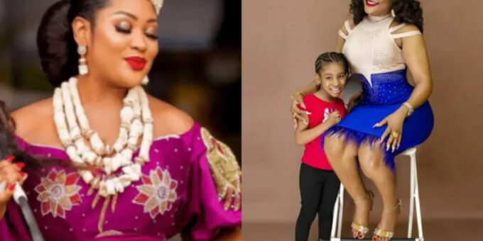 Uche Elendu berates troll who claimed to have more knowledge of her child's age