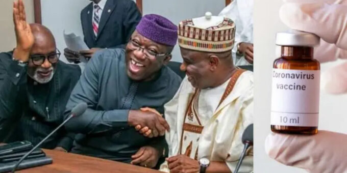 Nigerian governors to take COVID-19 vaccine on March 10