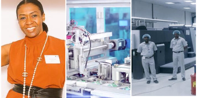 Kofo Akinkugbe: Nigerian woman who owns West Africa's first smart card plant, exports to 21 countries