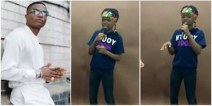 Lion no dey born goat: Fans react as Wizkid's son Tife shows rap skill in new video