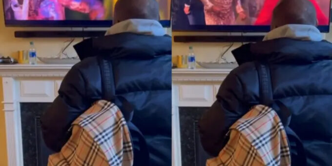 Coming 2 America: Davido excited as he watches himself in movie
