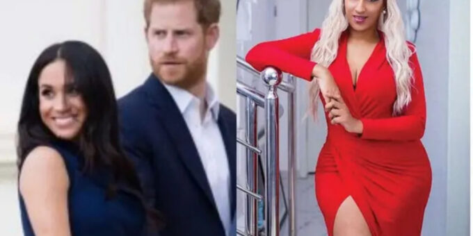 #OprahMeghanHarry: Juliet Ibrahim hails Prince Harry for standing by Meghan Markle