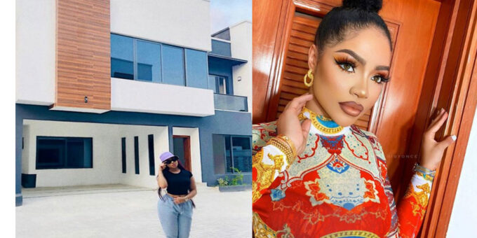 Fans Hail BBNaija's Nengi As She Flaunts Her Newly Acquired Mansion [PHOTOS]