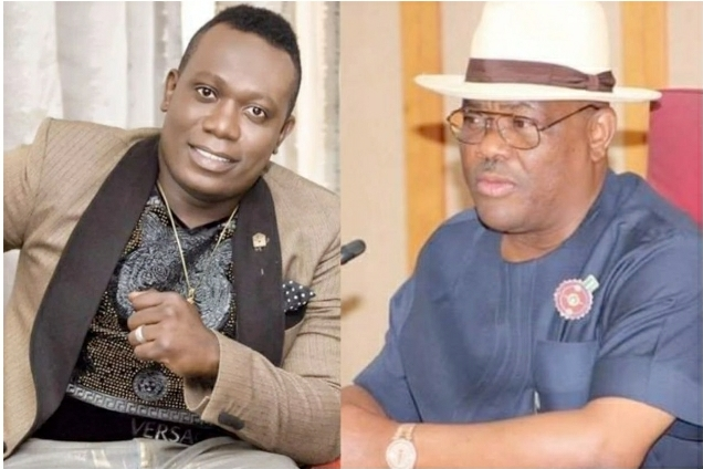 Duncan Mighty Shouts Governor Wike's Name As He Gets His N10 Million Alert