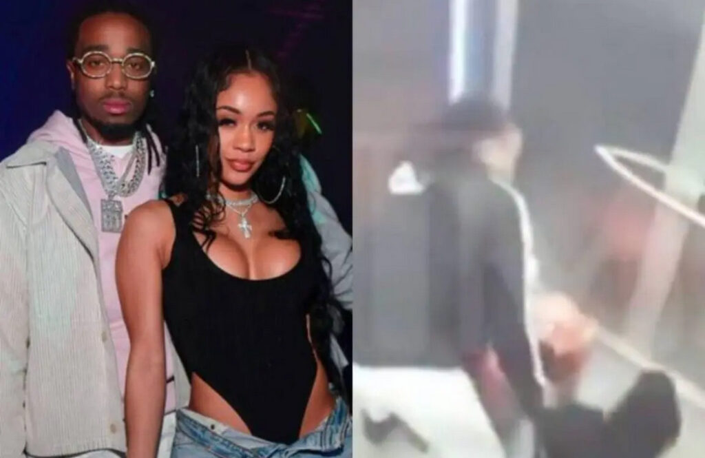Saweetie breaks silence over shocking elevator fight with Quavo