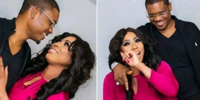 Shina Pelle showers love on wife Ayobola Pelle as she celebrates her birthday