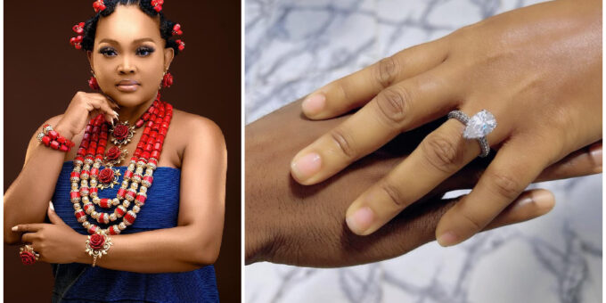 Nollywood actress Mercy Aigbe is engage (photo)