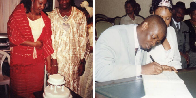 Photos from Don Jazzy and his ex-wife's wedding 18 years ago