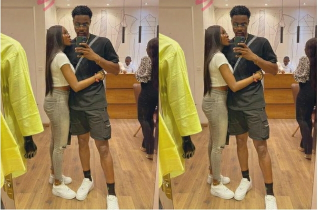 Together Is A Wonderful Place To Be – BBNaija Star Vee Says As She Clinches Onto Neo