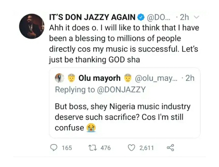 'She's Now Married With A Child'- Don Jazzy Finally Reveals Another Hot Info About His Ex-Wife