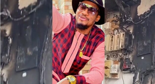 Jnr Pope Thank God As He And His Family Escape Death After Fire Guts Their House – Video