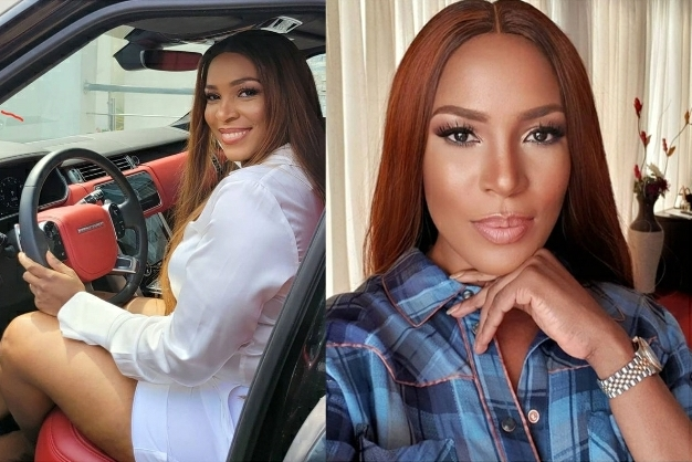 My View Is Better Than Anything I Ever Imagined- Linda Ikeji Says As She Flaunts Her Bathroom