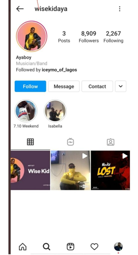 MEET The Artiste Who Is Copying Wizkid's Music & Making N30 Million Monthly