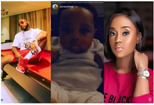 See What Davido Was Spotted Doing After Chioma Allegedly Vowed To Keep Their Son From Him [VIDEO]