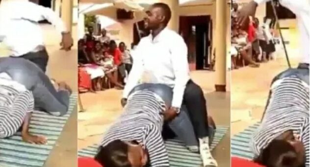 Drama As 16-Year-Old Boy Beats Pastor For Grabbing His Girlfriend's Backside