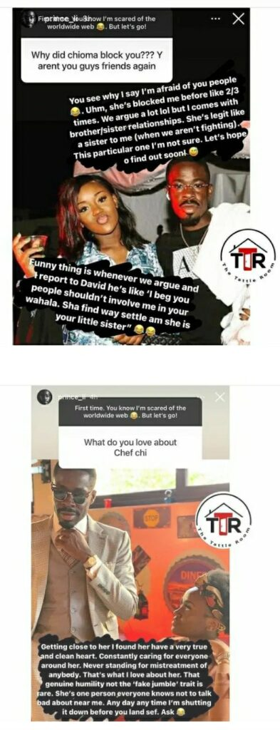 Davido's Lawyer Prince Reacts To Being Blocked By Chioma And What He Loves About Her
