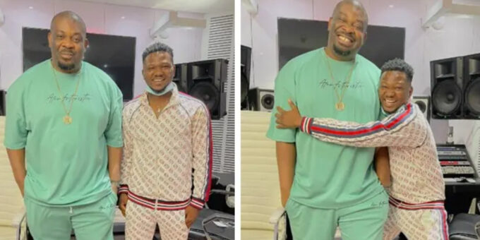 Ayomidate: Don Jazzy welcomes new member to Mavin family