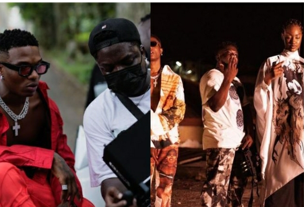 Director K's Hype During The Making Of Wizkid's Essence Video Is The Funniest Thing On Social Media Today (Video)